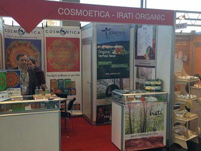 Visite Cosmoetica en Biofach-Vivaness del 15 al 18 de febrero en Núremberg, Alemania