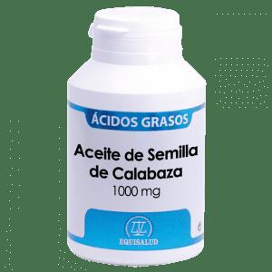 Aceite de Semilla de Calabaza 120 cápsulas