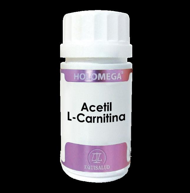 Holomega Acetil-L-Carnitina 50 cápsulas