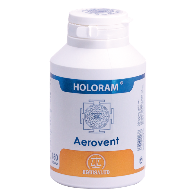 Holoram Aerovent 60 cápsulas