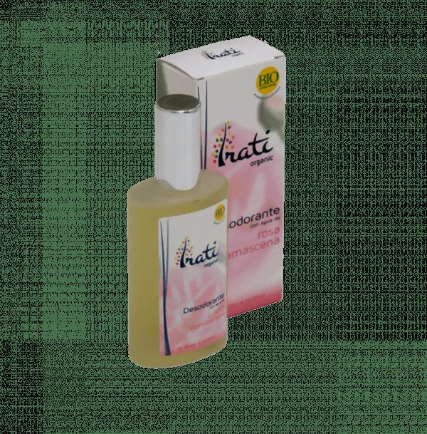 Desodorante rosa damascena