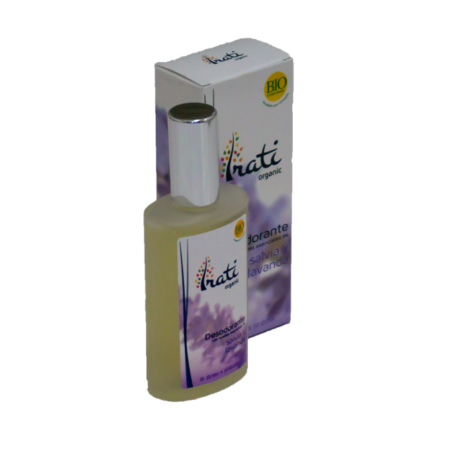 Desodorante salvia y lavanda