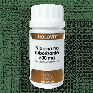 Holovit Niacina no ruborizante 500 mg 50 cápsulas