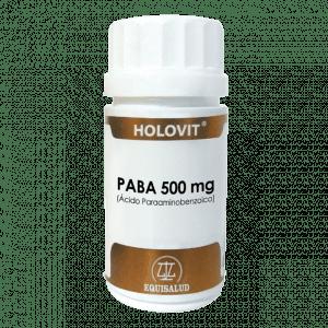 Holovit PABA 500 mg 50 cápsulas
