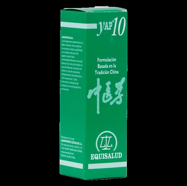 YAP 10: Estancamiento de Qi de Hígado - Gan Qi Yue Ji