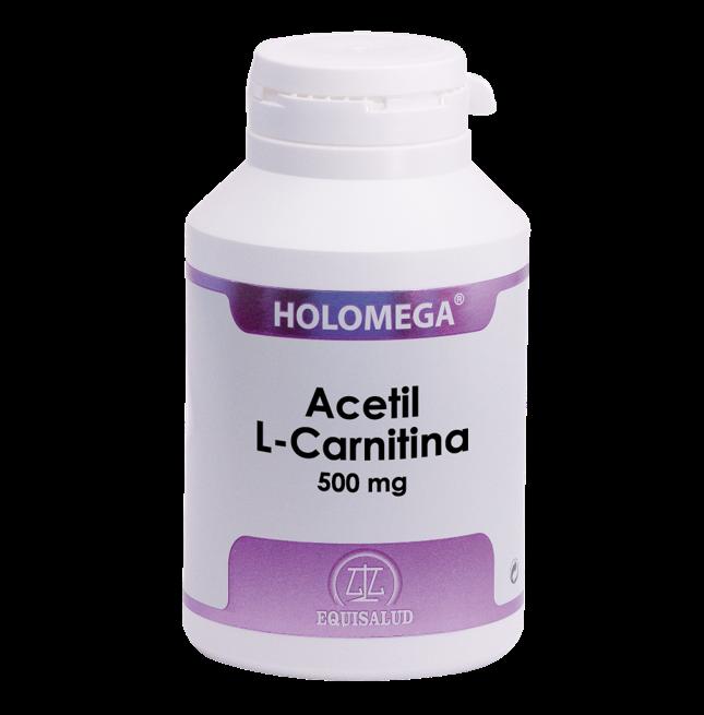 Holomega Acetil-L-Carnitina 180 cápsulas