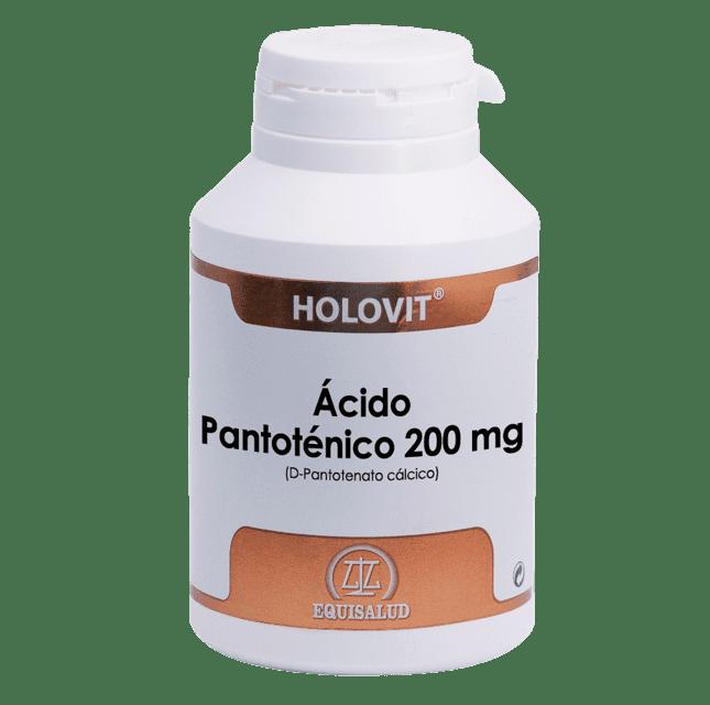 Holovit® Ácido Pantoténico 200 mg (D-Pantotenato cálcico) 180 cápsulas
