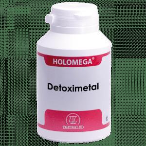 Holomega Detoximetal 180 cápsulas