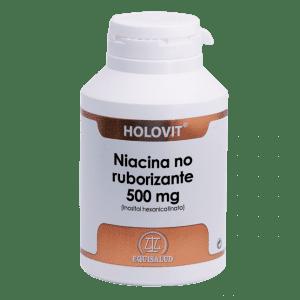 Holovit Niacina no ruborizante 500 mg 180 cápsulas