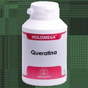 Holomega Queratina 180 cápsulas