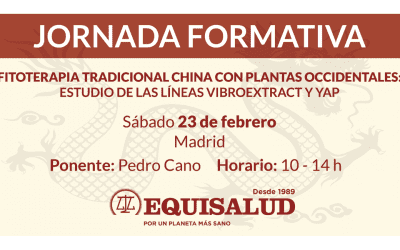 Jornada «Fitoterapia tradicional china con plantas occidentales» el 23 de febrero en Madrid