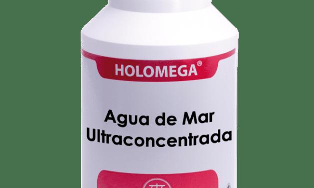 Holomega Agua de Mar Ultraconcentrada 180 cápsulas
