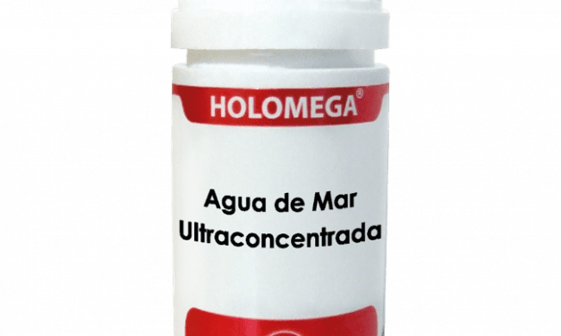 Holomega Agua de Mar Ultraconcentrada 50 cápsulas