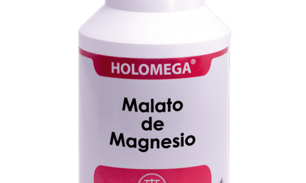 Holomega Malato de Magnesio 180 cápsulas