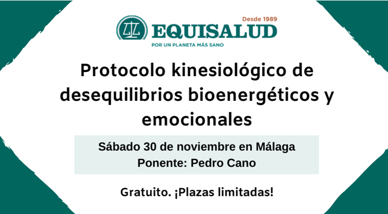 Formación en Málaga: «Protocolo kinesiológico de desequilibrios bioenergéticos y emocionales» en noviembre