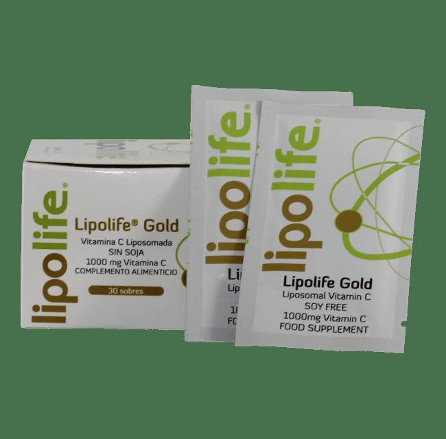 Lipolife® Gold Vitamina C (Sobres)