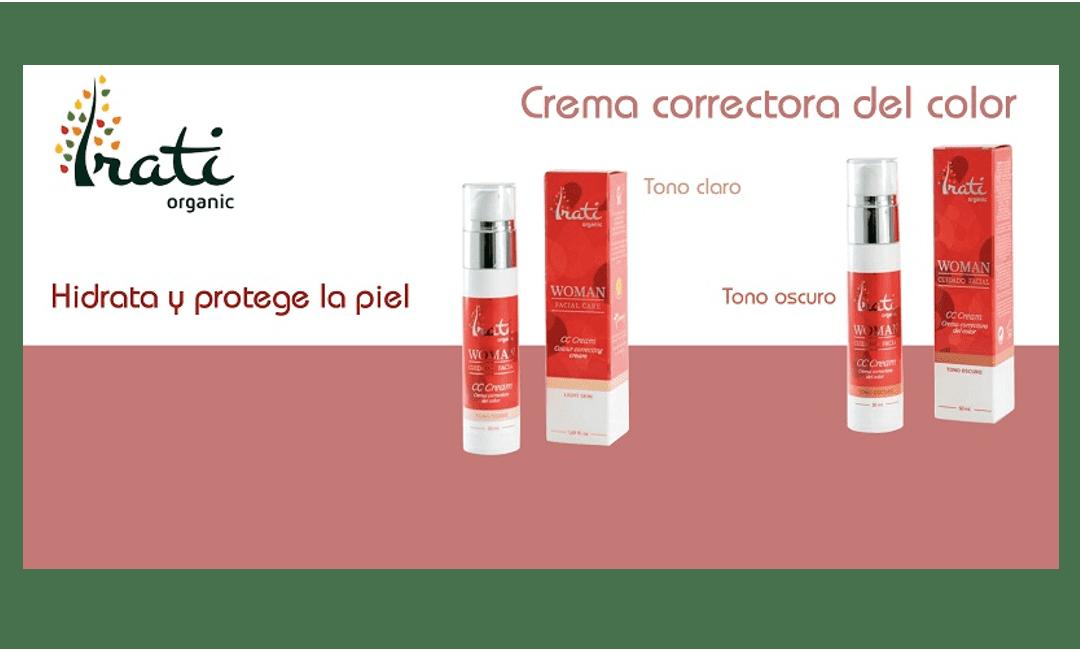 Nueva CC Cream de Irati Organic: aporta color a la vez que hidrata y protege la piel