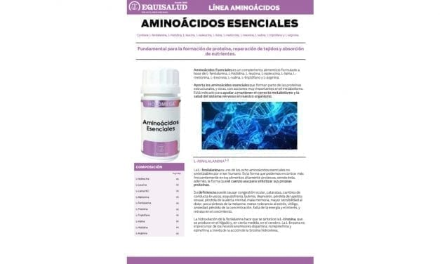 Ficha técnica Aminoácidos Esenciales