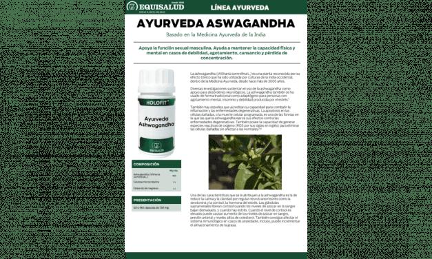 Ficha técnica Ayurveda Ashwagandha