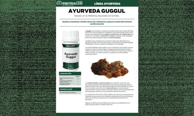 Ficha técnica Ayurveda Guggul