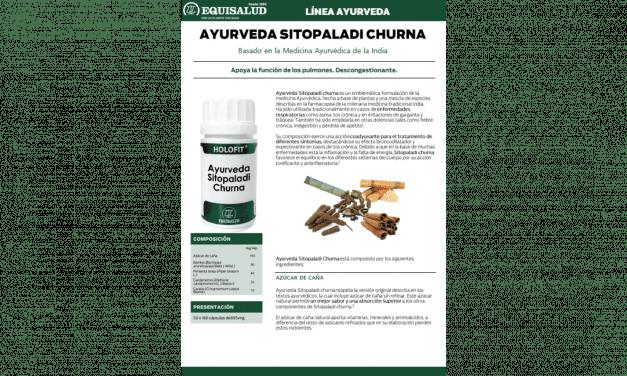 Ficha técnica Ayurveda Sitopaladi Churna
