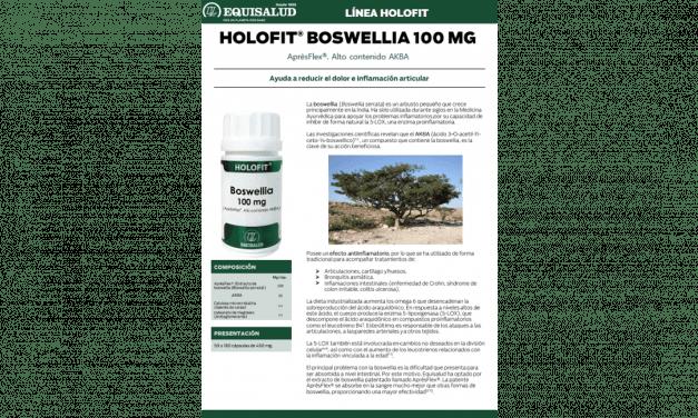 Ficha técnica Holofit Boswellia 100 mg