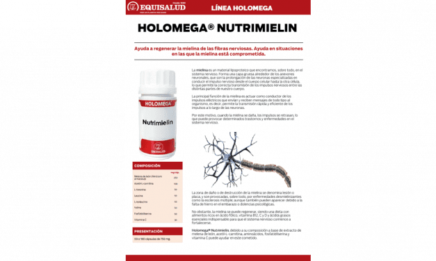 Ficha técnica Holomega Nutrimielin