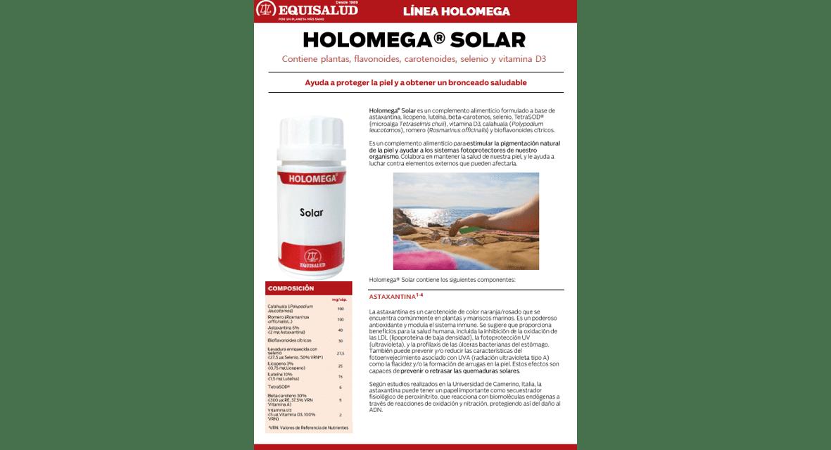 Ficha Técnica Holomega Solar