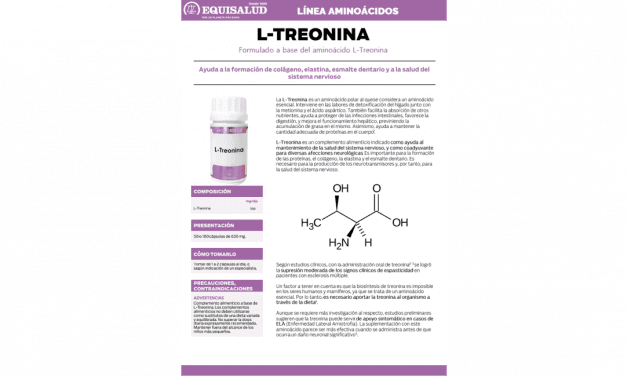 Ficha técnica Aminoácidos L-Treonina