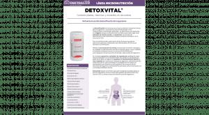 Ficha técnica en PDF de Micronutrición Funcional DetoxVital