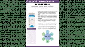 Ficha técnica en PDF de Micronutrición Funcional EstresVital