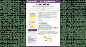 Ficha técnica en PDF de Micronutrición Funcional LipidVital