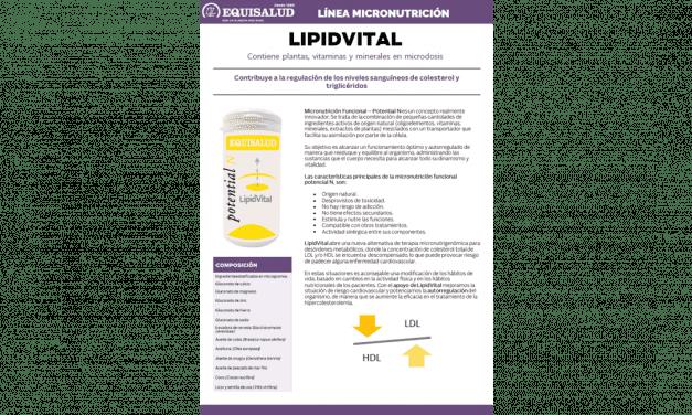Ficha Técnica Micronutrición LipidVital