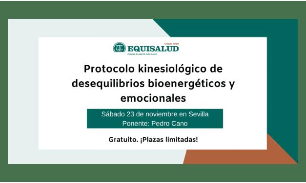 Formación en Sevilla: «Protocolo kinesiológico de desequilibrios bioenergéticos y emocionales» en noviembre