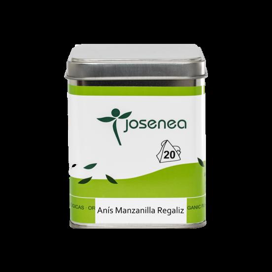 Anís-Manzanilla-Regaliz BIO 20 pirámides