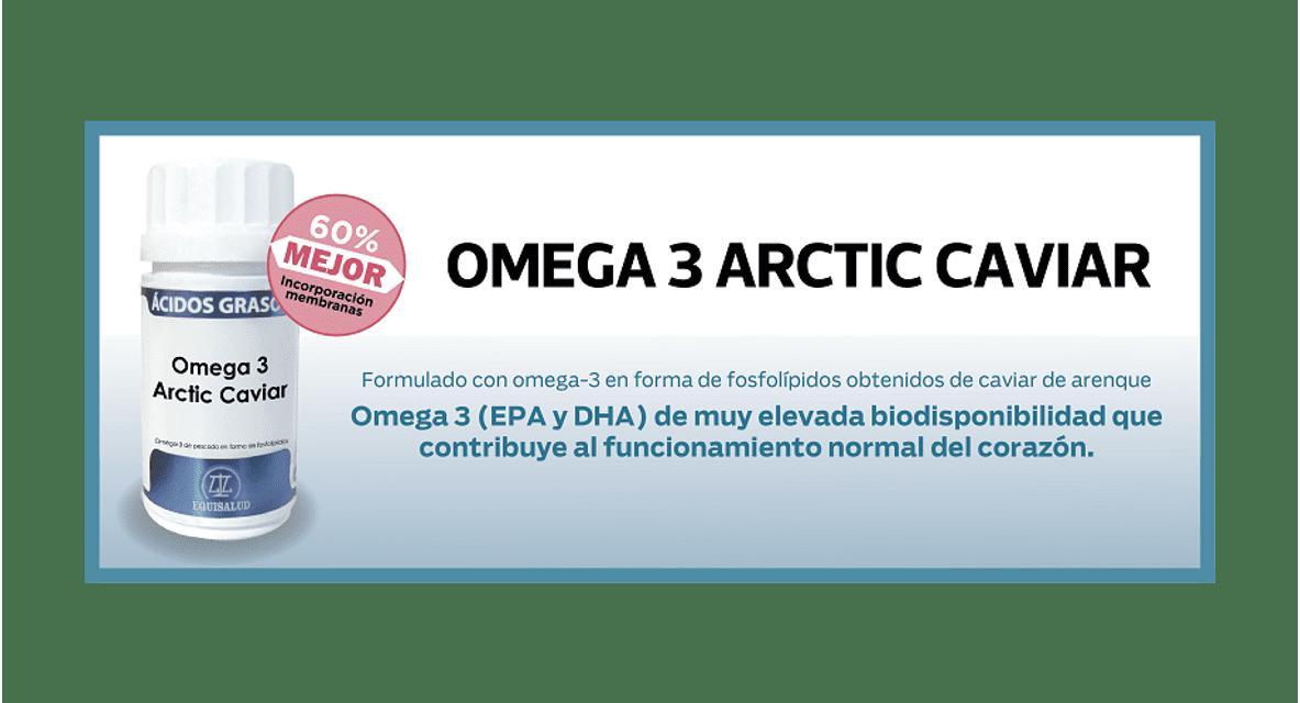 Conozca el nuevo Omega 3 Arctic Caviar