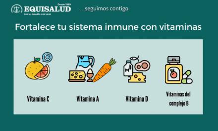 Fortalece tu sistema inmune con vitaminas