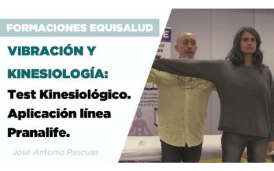 Vibración y kinesiología: Test Kinesiológico. Aplicación línea Pranalife