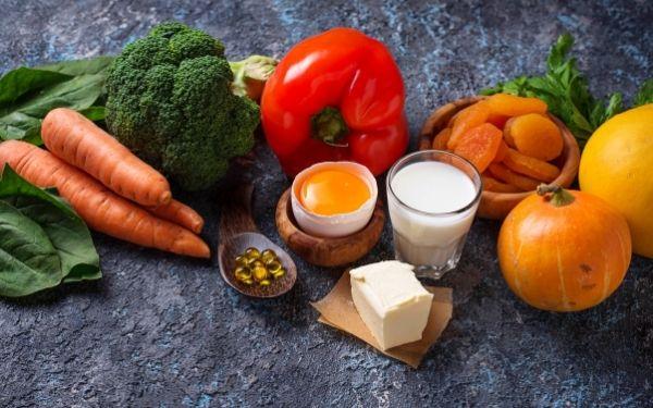 Alimentos que contienen vitamina A