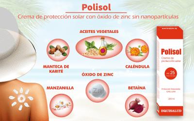 Polisol: nueva crema de protección solar natural con óxido de zinc