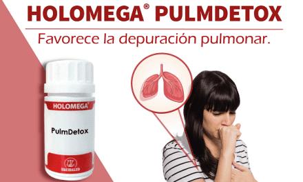 Holomega PulmDetox: Favorece la depuración pulmonar