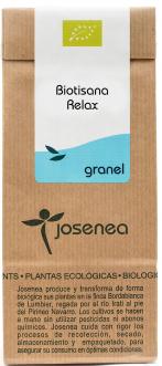 Estuche infusión Biotisana relax de Josenea
