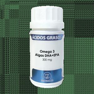 Omega 3 Algas. DHA+EPA. Vegano.