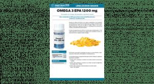 Omega 3 EPA. Alto contenido.