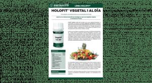 Ficha técnica Holofit Vegetal 1 al día
