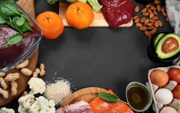 Alimentos que contienen la coenzima Q10