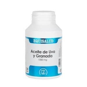 Aceite de Uva y Granada 1.000 mg 120 cápsulas