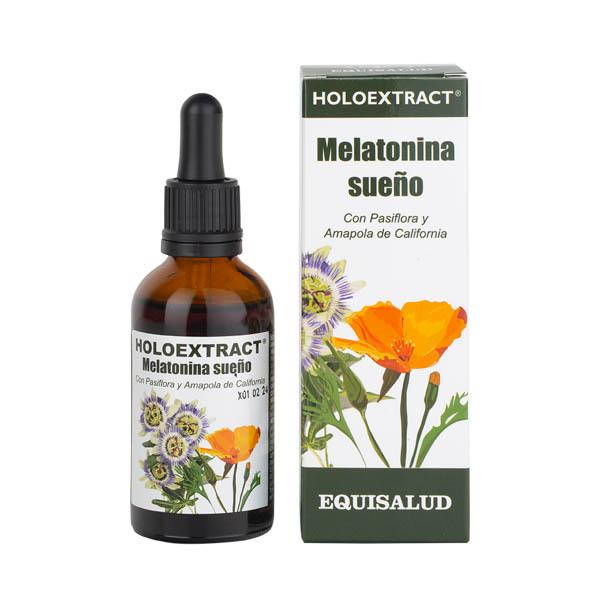 Holoextract Melatonina sueño 50 ml.