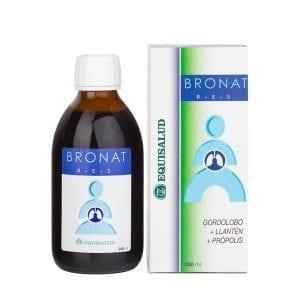 Bronat jarabe con acción antiséptica para vías respiratorias