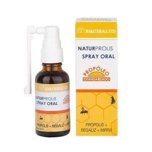 Naturprolis spray oral, para afecciones de las vías respiratorias superiores.
